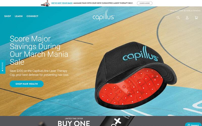 Visit Capillus.com